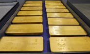 Gold Up at Near Nine-Year Record High Over Continued Market Uncertainty